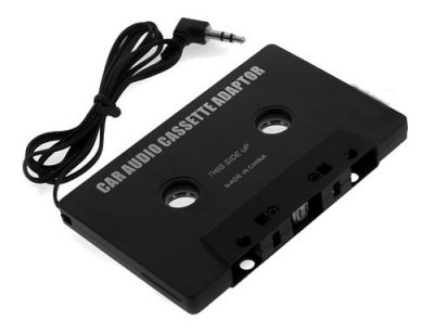 Adaptador Audio MP3 para Cassette de Coche