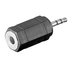 Adaptador Audio Jack 2.5H-3.5M