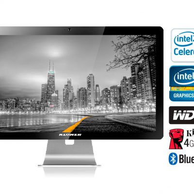 "All in One 21.5"" AIO Celeron  KLONER"
