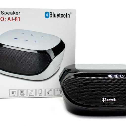 Altavoz Bluetooth Táctil + Función Manos Libres AJ-81 Negro
