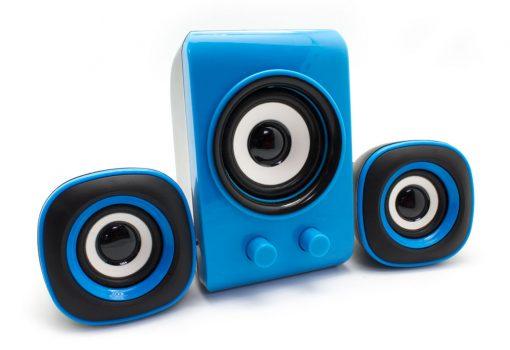 Altavoz Hicrom 2.1 Azul Biwond