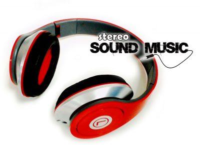 Auricular HZ-703 Rojo
