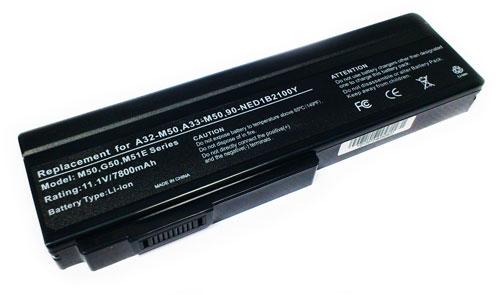 Asus 7800mAh G50 L50 M50 M51 M70 X55 X75VN