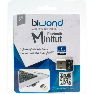 Adaptador Mini Bluetooth Minitut Biwond
