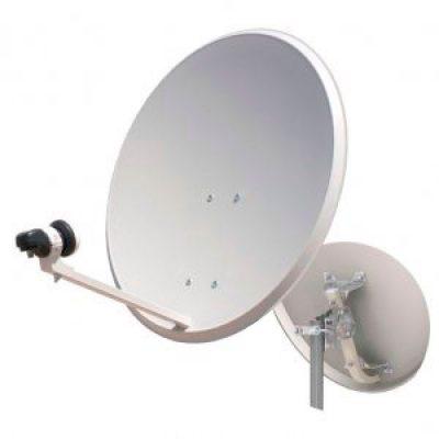 Antena Parabólica 80cm + LNB + Soporte Pared