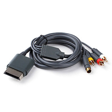 Cable S-VIDEO Y AV X-Box 360