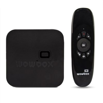 Mini PC Quad Core Wowbox + Mando Airmouse 1.5GHz Android 4.4.2 8