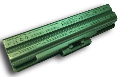 Sony VAIO 7800mAh VGP-BPS21 VGP-BPS21A VGP-BPS21B Plata