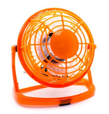 Ventilador Cool PC USB Naranja