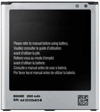 Bateria Samsung Galaxy S4 2600mAh