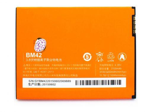 Bateria Xiaomi RedMi Note BM42 3100mAh