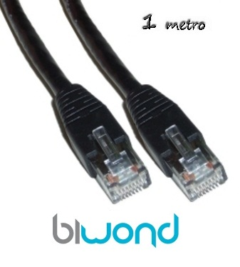 Cable Ethernet 1m Cat 6 BIWOND