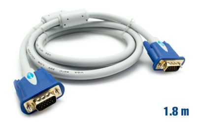 Cable VGA 30AWG M/M 1.8m BIWOND