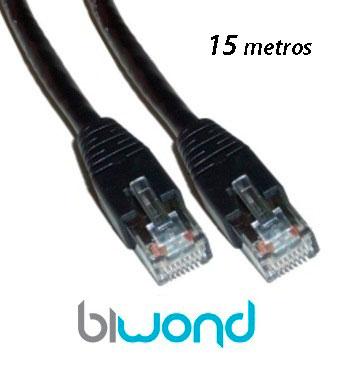 Cable Ethernet 15m Cat 6 BIWOND