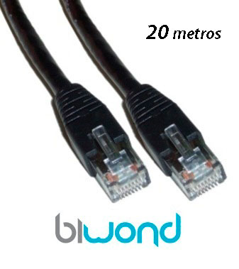 Cable ethernet 20m cat 6 biwond zapicables for Cable ethernet 20 metros
