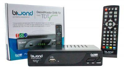 TDT HD Reproductor-Grabador DVB-T2 TDTy+ Sound Biwond