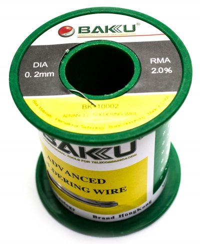 Estańo 0.2mm BAKU-10002 100G