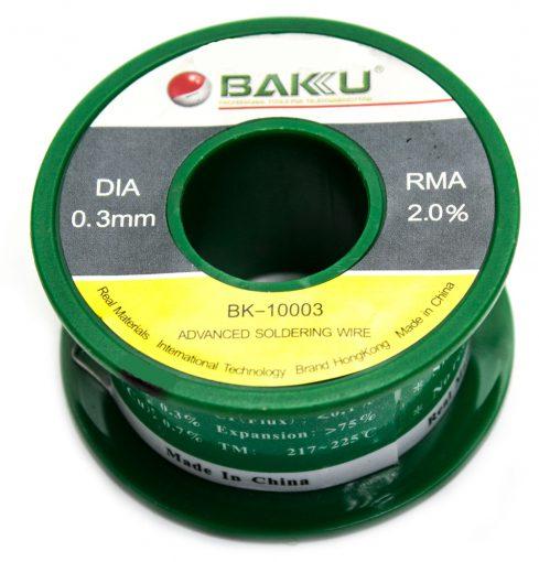 Estańo 0.3mm BAKU-10003 50G