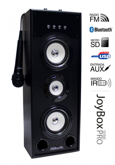 Reproductor JoyBox Karaoke Serie Pro WH