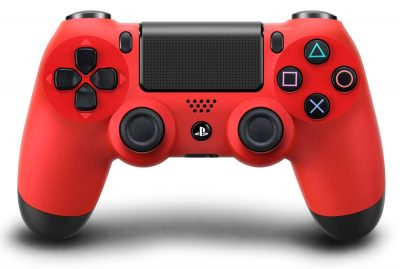 Mando PS4 Rojo Original