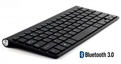 Mini Teclado Multimedia Bluetooth 3.0 Kloner NEGRO