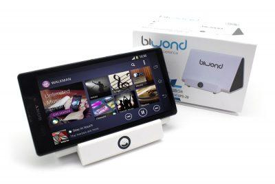 Music ProSound Station Inducción Blanco Biwond