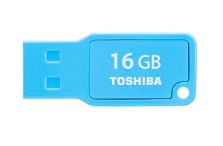 Pendrive 16GB Mikawa Azul Toshiba