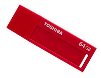 Pendrive 64GB Daichi 3.0 Rojo Toshiba