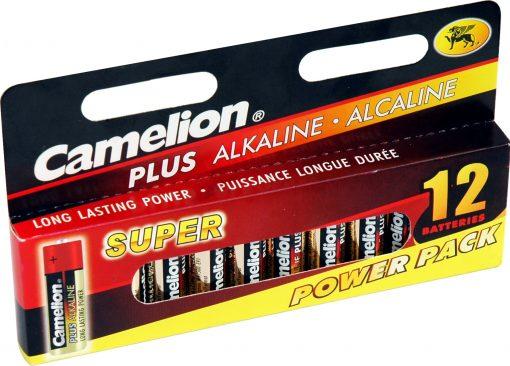 Plus Alcalina AA 1.5V (12 pcs) Camelion