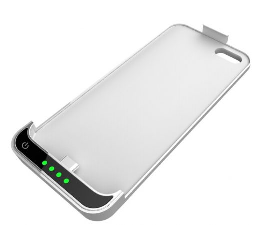 Carcasa Power Bank para iPhone 5 Blanca