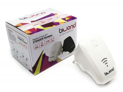 Repetidor Wifi N Xtender 300 Mbps Blanco Biwond