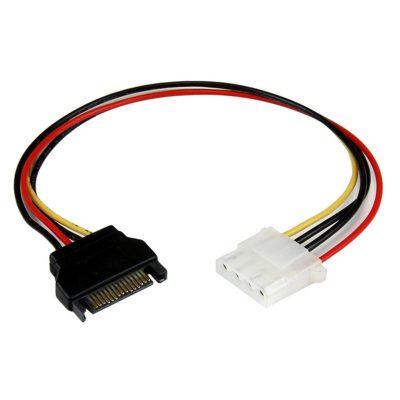Cable adaptador SATA 15 Pines a Molex 4 Pines