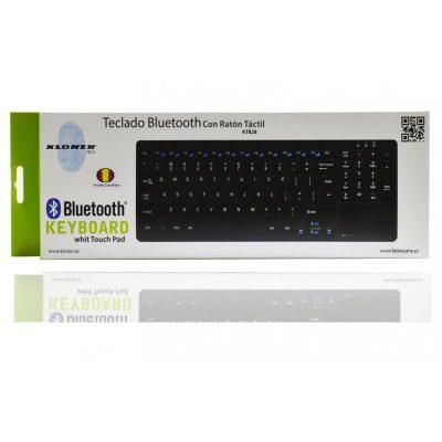 Teclado Bluetooth 3.0+Ratón Táctil incluyedo