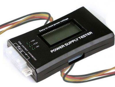 Tester LCD Fuente Alimentación