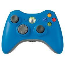 Mando Inalambrico XBOX360 Azul