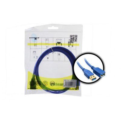 Cable USB 3.0 H/M 1.5m Kloner
