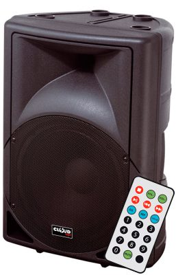 "Altavoz Autoamplificado 400W 12"" 112MP3 USB y SD Cloud Night"